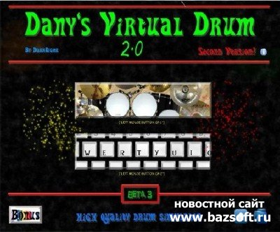 Dany's Virtual Drum 2.0 Beta 3(2011)