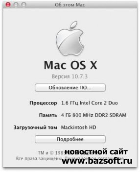 Mac OS X 10.7 Lion for the Asus EeePC 1201N
